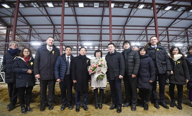 Các đại biểu Việt- Nga cùng chung nỗ lực cho sự phát triển của Dự án sữa của TH tại Nga