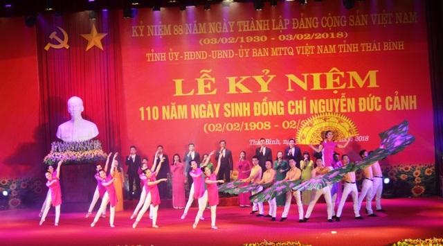 Buổi lễ Kỷ niệm niệm 110 năm ngày sinh đồng chí Nguyễn Đức Cảnh