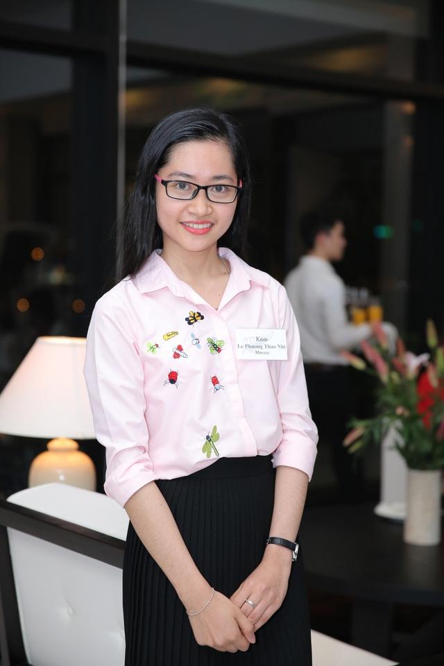 Lê Phương Thảo Nhi chia sẻ trong buổi tiệc tại nhà Đại sứ New Zealand tại Việt Nam mới đây.