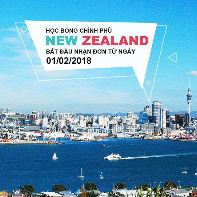 """Học bổng Chính phủ New Zealand năm 2019 chính thức """"mở cửa"""" đón ứng viên Việt - 2"""