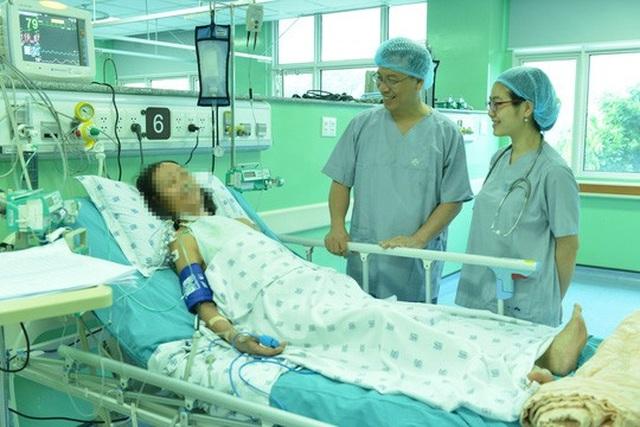 Bệnh nhân T. hiện đang dần hồi phục