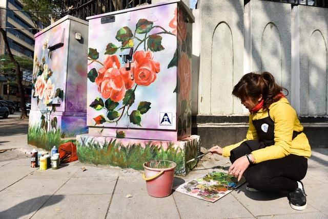 Dự kiện sắp tới việc vẽ tranh lên bốt điện cũ sẽ tiếp tục được thực hiện trên một số tuyến phố khác như Tràng Tiền, Ngô Quyền, Hàng Khay...
