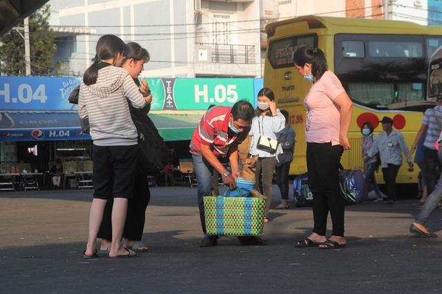 Một chú chó trở lại Sài Gòn sau khi cùng gia đình chủ về quê đón Tết cổ truyền