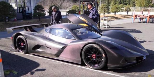 Siêu xe chạy điện Nhật Bản phá kỷ lục tăng tốc - 1