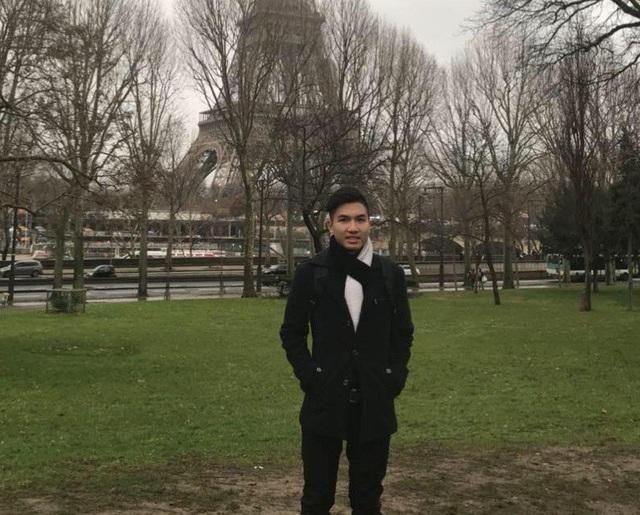 Duy Quang - sinh viên khoa Quản lý khách sạn tại ĐH Khoa học ứng dụng Saimia, Phần Lan.
