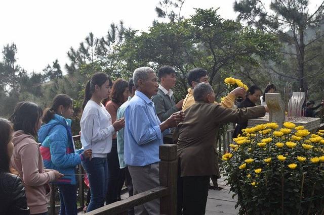 Trong dịp Tết nguyên đán, đã có gần 47.000 người đến viếng mộ Đại tướng
