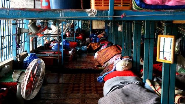 Bên trong một nhà tù Campuchia. (Ảnh: ICRC)
