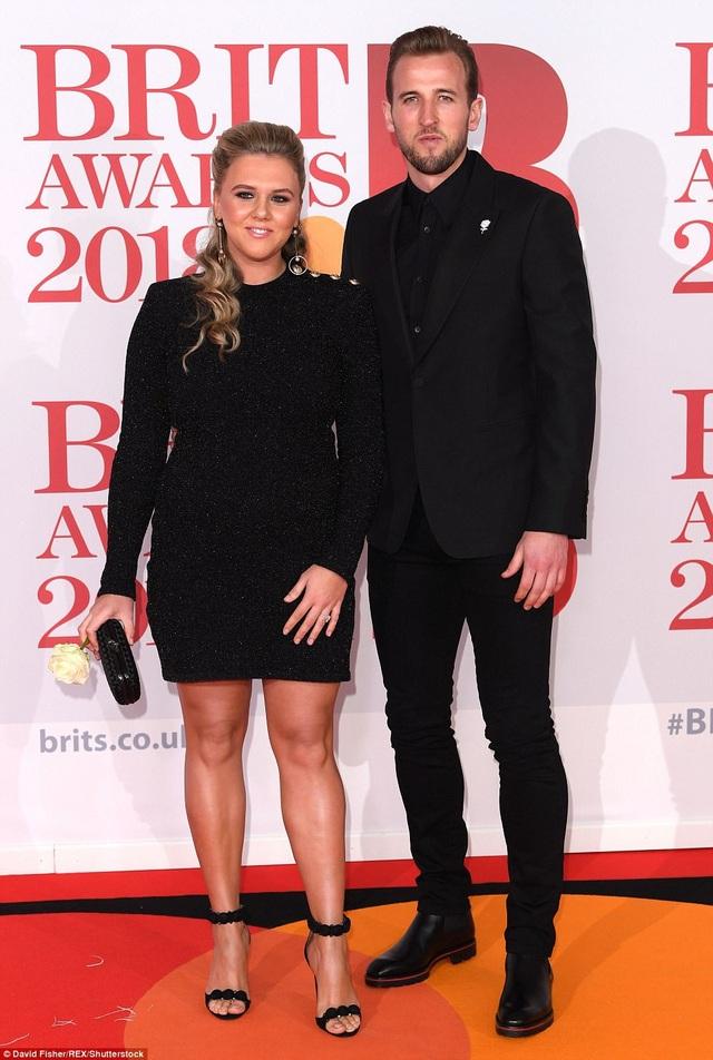 Cầu thủ Harry Kane và bạn gái Katie Goodland