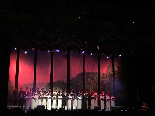 Ở phần cuối của chương trình văn nghệ, các nghệ sĩ từ Việt Nam sang lưu diễn cũng đã mang đến các tiết mục đặc sắc như độc tấu, hòa tấu nhạc cụ dân tộc, biểu diễn xiếc, hát múa hay tân cổ giao duyên... Khán phòng gần 1.000 ghế đã không còn chỗ trống. Chương tình kéo dài gần 3 giờ hưng luôn hấp dẫn và thu hút sự quan tâm của khán giả đến tận phút cuối.