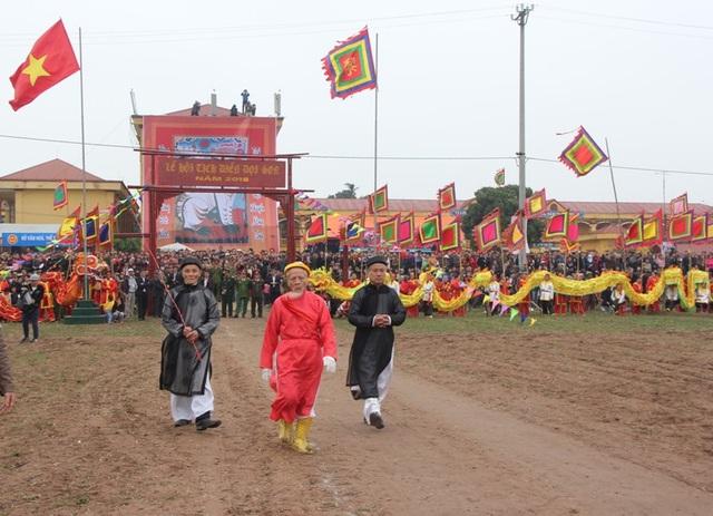 Lễ hội Tịch điền Đọi Sơn năm 2018