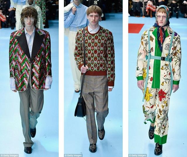 Những thiết kế thời trang pha trộn phong cách của nhiều thập kỷ và nhiều… giới tính.