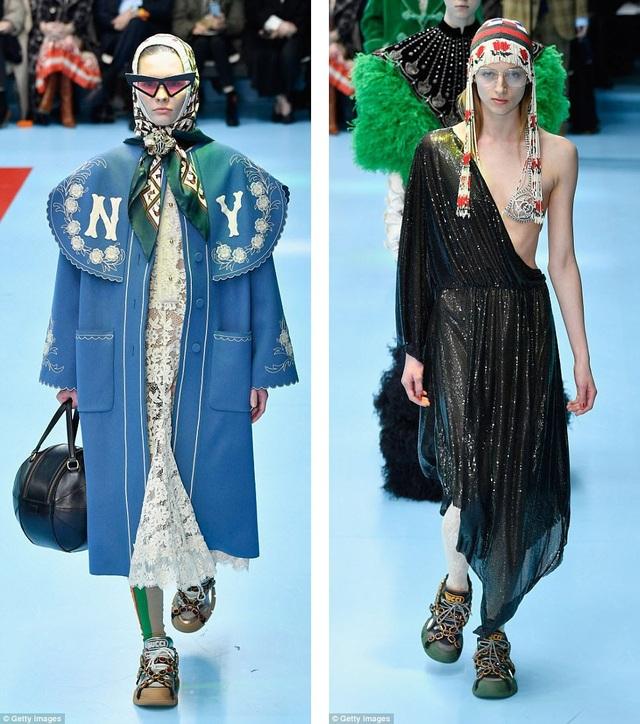 Hiện tại, đây là show diễn gây sửng sốt nhất tại Tuần lễ Thời trang Milan.