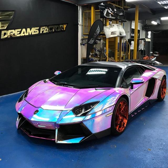 Để Lamborghini Aventador toả sáng mọi nơi mọi lúc - 1