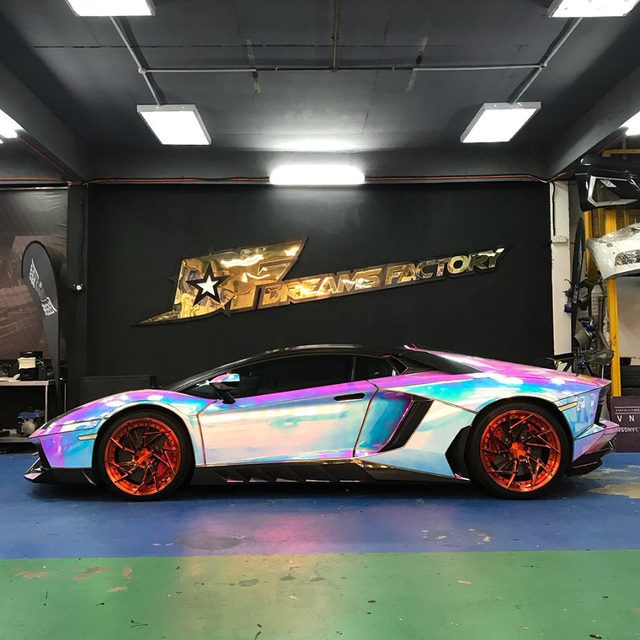 Để Lamborghini Aventador toả sáng mọi nơi mọi lúc - 4