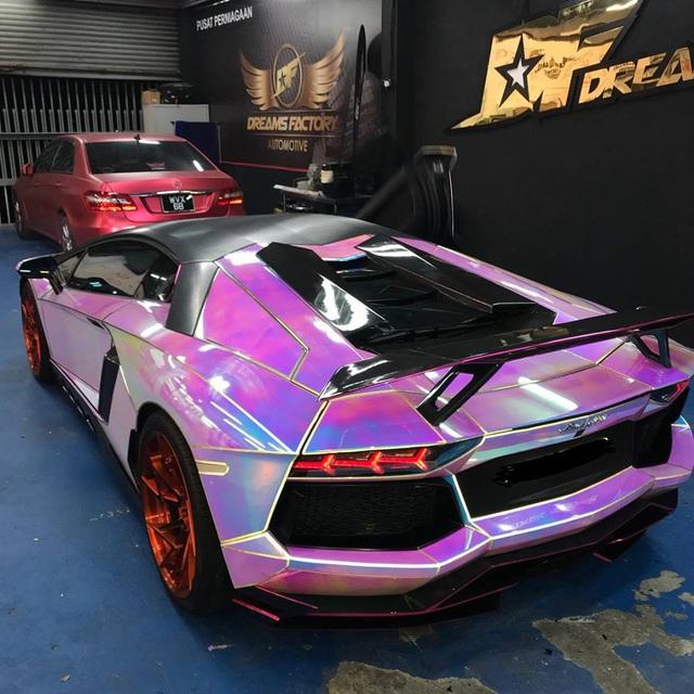 Để Lamborghini Aventador toả sáng mọi nơi mọi lúc - 7