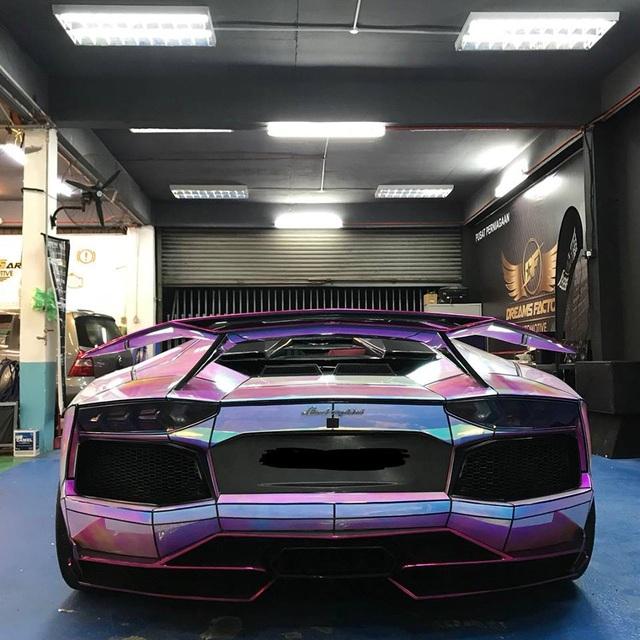 Để Lamborghini Aventador toả sáng mọi nơi mọi lúc - 8