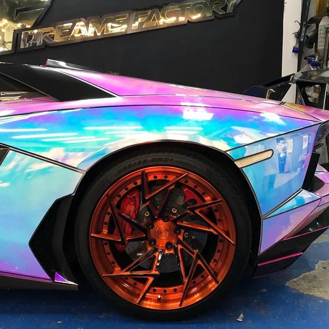 Để Lamborghini Aventador toả sáng mọi nơi mọi lúc - 6