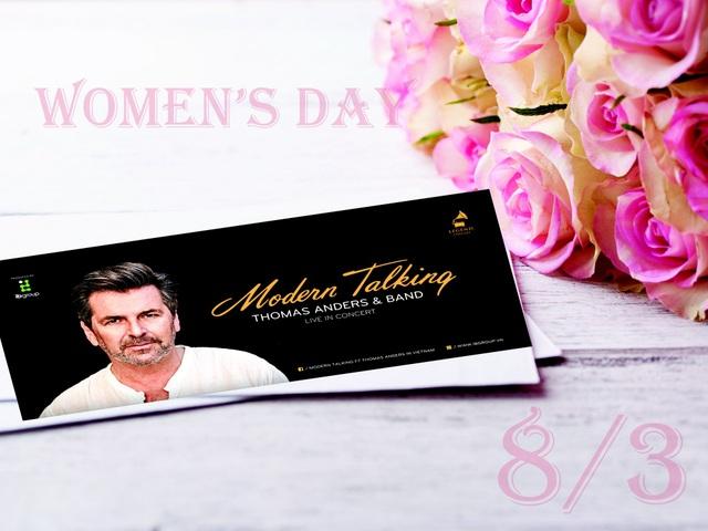 Vé Modern Talking được lựa chọn làm quà tặng dịp 8/3 - 3