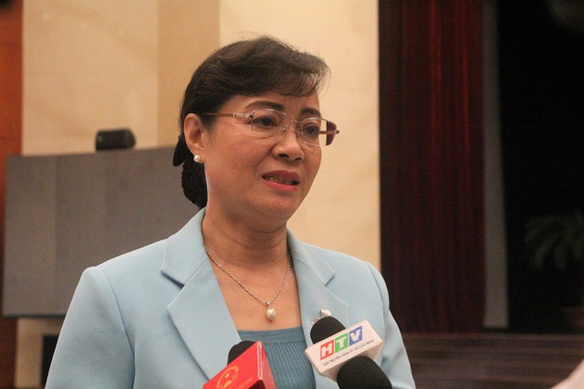 Chủ tịch HĐND TPHCM Nguyễn Thị Quyết Tâm đánh giá vấn đề con người đóng vai trò quan trọng, tạo động lực thực hiện các nhiệm vụ khác để phát triển kinh tế thành phố