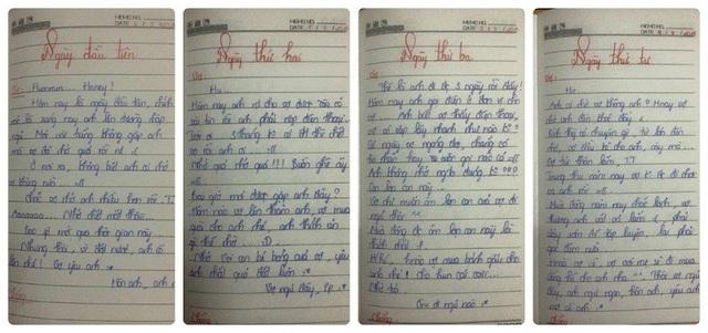 Những dòng nhật ký được Hương Giang viết cách đây 5 năm