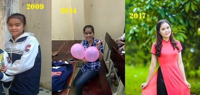Cô gái này mất 8 năm để dậy thì thành công (ảnh: Ánh Tuyết)