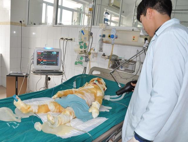 Bố mẹ của em cũng đang cấp cứu tại bệnh viện đa khoa tỉnh Thái Bình.