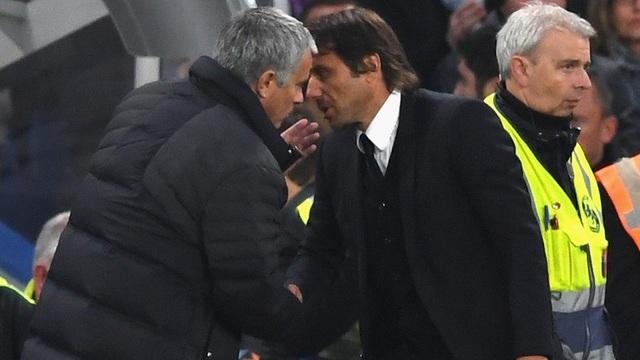 Mourinho và Conte là đối thủ không đội chung trời những năm qua