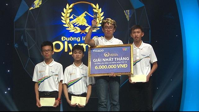 Quang Trường giành vòng nguyệt quế , mang cầu truyền hình ĐLĐ Olympia về với TP. Hồ Chí Minh