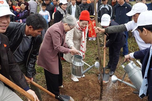 60.000 cây xanh được trồng sau lễ phát động Tết trồng cây ở Bắc Ninh - 3