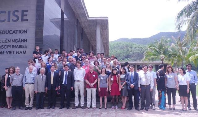 Có khoảng 74 nhà khoa học từ 20 quốc gia trên thế giới tham gia sự kiện này.
