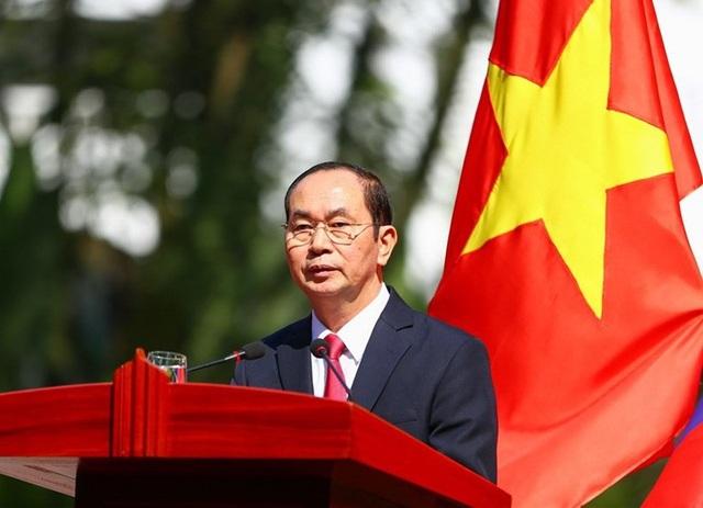 Chủ tịch nước Trần Đại Quang và Phu nhân sẽ có chuyến thăm cấp Nhà nước tới Ấn Độ, Bangladesh trong tháng 3