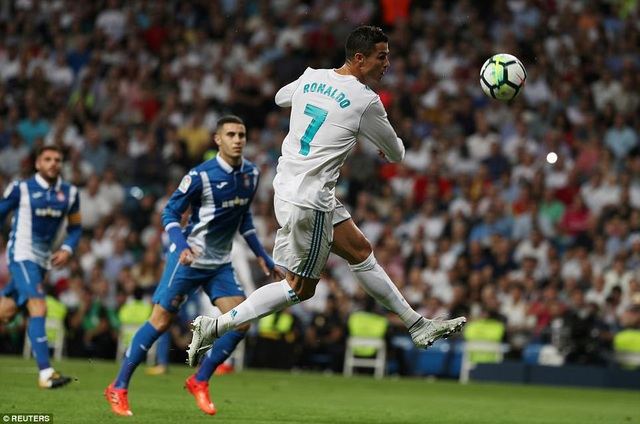 C.Ronaldo đang đạt phong độ cao và luôn có duyên ghi bàn trước Espanyol