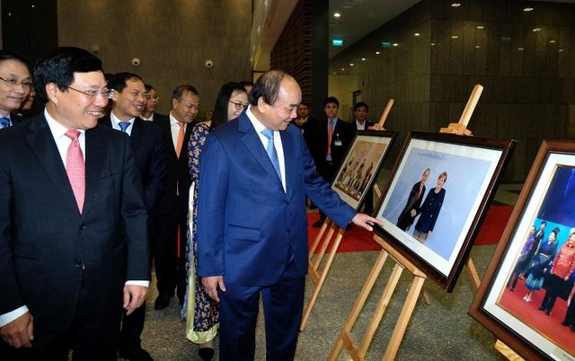 Thủ tướng ghi nhận những nỗ lực, kết quả đạt được của Bộ Ngoại giao trong thời gian qua để góp phần nâng cao vị thế của Việt Nam trên trường quốc tế