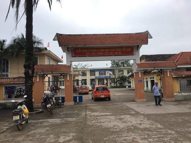 Bệnh viện đa khoa huyện Bố Trạch, Quảng Bình, nơi xảy ra sự việc