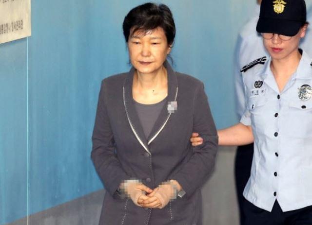 Cựu Tổng thống Hàn Quốc Park Geun-hye (Ảnh: Yonhap)