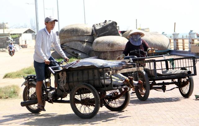Cá ngừ được thu với mức giá cao 115.000 nghìn/kg.