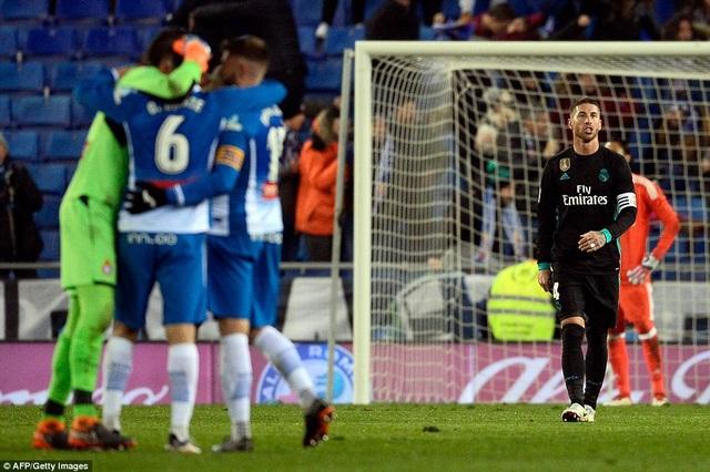 Espanyol đánh bại Real Madrid, như cách họ từng hạ Barcelona lẫn Atletico tại RCDE năm ngoái