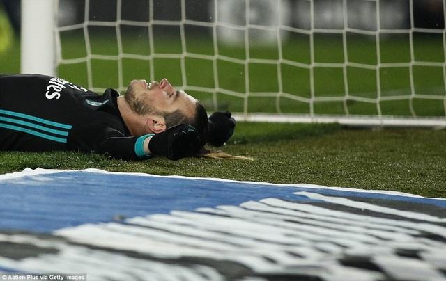 Nỗi thất vọng của Bale, anh bỏ lỡ quá nhiều cơ hội ở trận đấu này