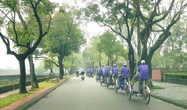 Những con đường xanh bình yên tại xứ Huế