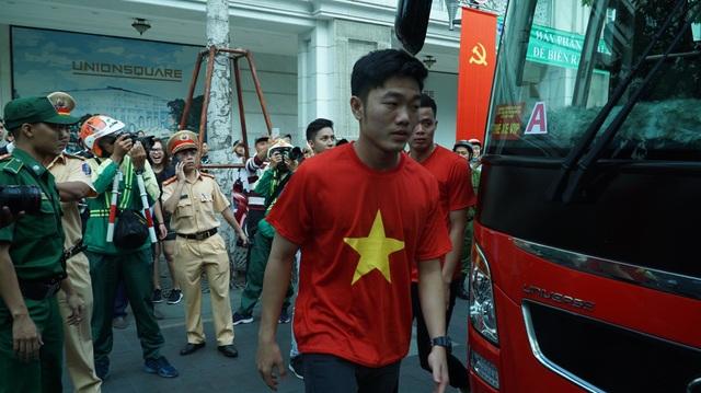 Thủ quân Lương Xuân Trường đã có mặt tại TPHCM ngày hôm qua