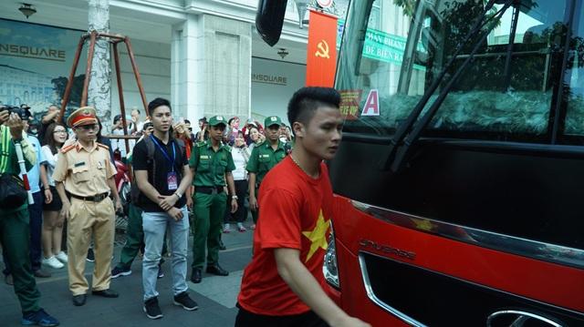 Tiền vệ tài hoa Quang Hải thu hút sự chú ý của người hâm mộ