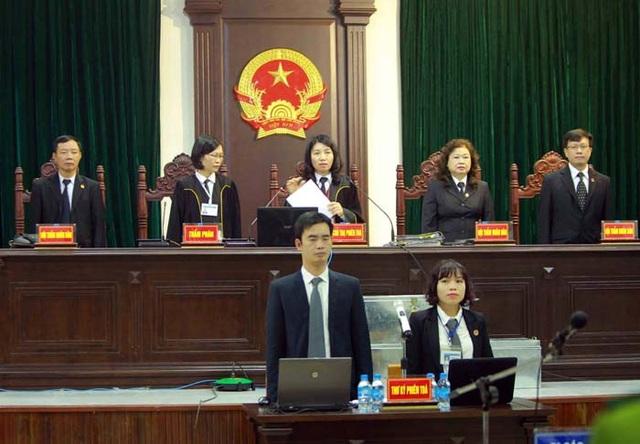 Sáng nay HĐXX tuyên án Trịnh Xuân Thanh, Đinh Mạnh Thắng và các đồng phạm (ảnh TTXVN)