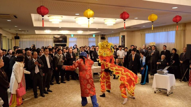 Tết Cộng đồng 2018 tại Nhật Bản đã diễn ra trong không khí ấm cúng, trang trọng, mang đậm bản sắc Việt Nam.