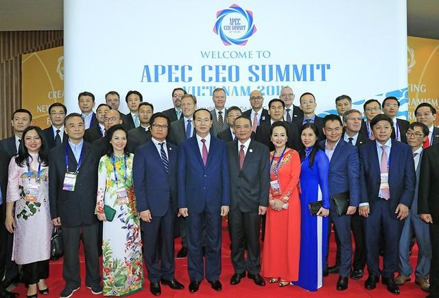 Các đại biểu dự Hội nghị Thượng đỉnh doanh nghiệp APEC