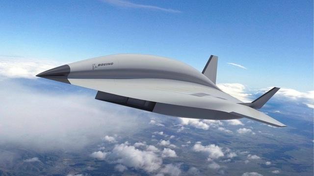 Đồ họa Valkyrie II - máy bay tốc độ nhanh gấp 2,5 lần đạn bay (Ảnh: Boeing)