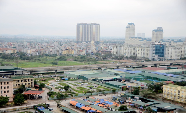 Hà Nội là một trong những địa phương có bất cập trong việc quản lý, sử dụng đất dự án khu đô thị giai đoạn 2013 - 2016. (Ảnh minh hoạ)