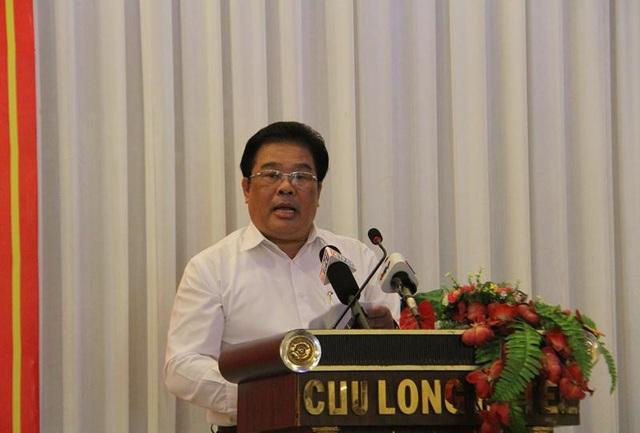 Ông Sơn Minh Thắng - Phó trưởng Ban thường trực Ban chỉ đạo Tây Nam Bộ phát biểu tại hội nghị