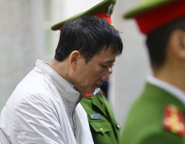 Bị cáo Trịnh Xuân Thanh tại buổi tuyên án sáng nay (5/2) (ảnh TTXVN)