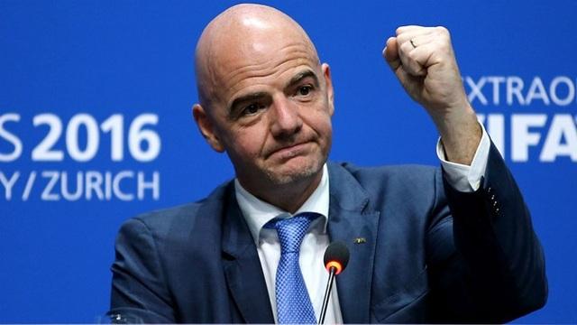 Chủ tịch FIFA Infantino