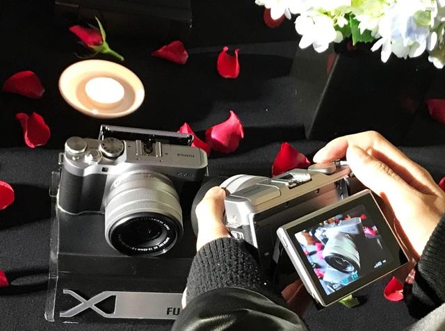 Trải nghiệm Fujifilm X-A5 tại lễ ra mắt diễn ra vào ngày 16/2.